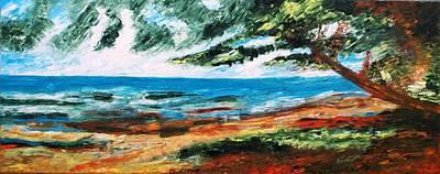 Maravilla Painting - Golfo De Guinea by Marie Pilar Espejo