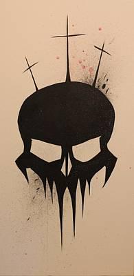 Golgotha Art Print by Matt Sweeney