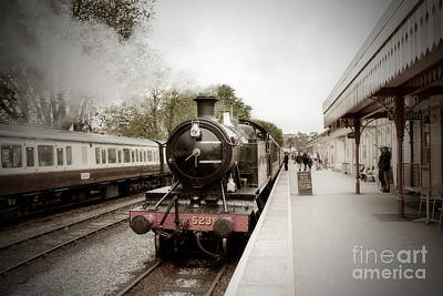 Photograph - Goliath The Antique Train by Terri Waters