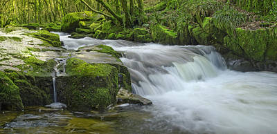 Photograph - Golitha Falls by John Chivers