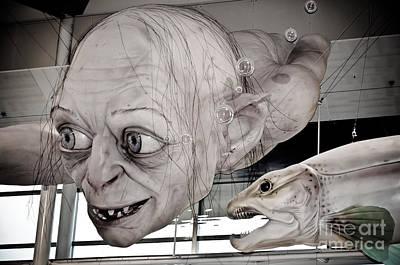Gollum Or Smeagol Art Print