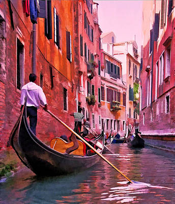 Photograph - Gondola 1 by Allen Beatty