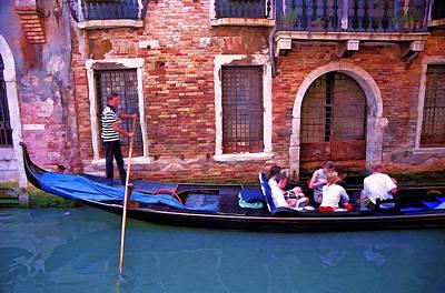 Photograph - Gondola 4 by Allen Beatty