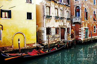 Photograph - Gondola by Alison Tomich