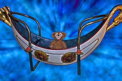 Gondola Bear Art Print by Thomas Woolworth