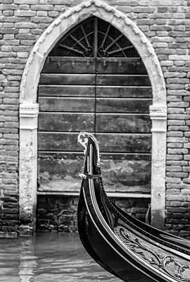 Gondola Detail Art Print