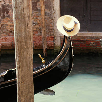 Photograph - Gondola In Venice by Orange&chocolate