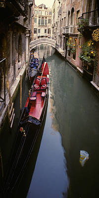 Photograph - Gondola Parking  by Dragan Kudjerski