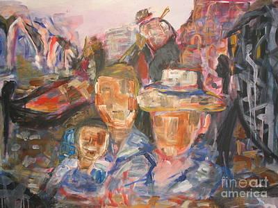 Painting - Gondola Ride by Fereshteh Stoecklein