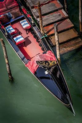 Photograph - Gondola Venice Italy by Alex Saunders