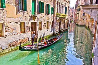 Photograph - Gondola by Walt  Baker