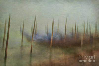 Photograph - Gondolas 2  by Marion Galt
