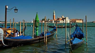 Photograph - Gondolas by Stephen Taylor