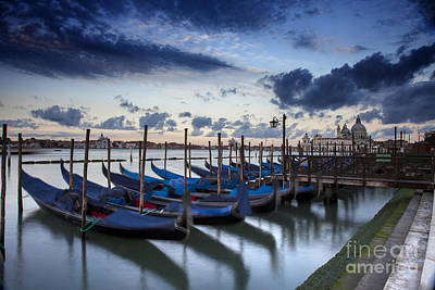 Photograph - Gondolas by Timothy Johnson