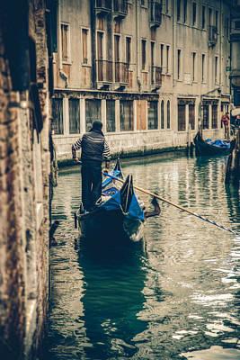 City Scenes - Gondolier by Timothy Denehy