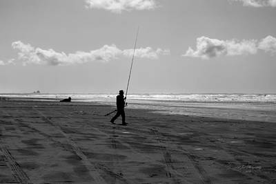 Photograph - Gone Fishin' In Bw by Jeanette C Landstrom