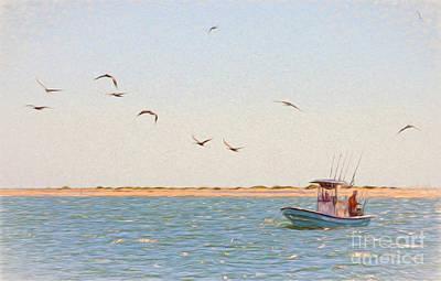 Photograph - Gone Fishing by Kerri Farley
