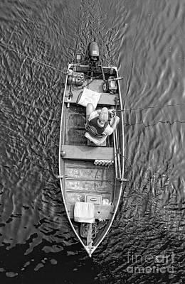 Gone Fishing  Art Print by Lee Dos Santos