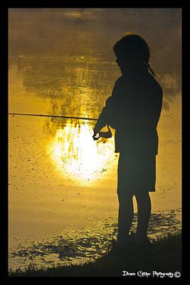 Gone Fishing Art Print