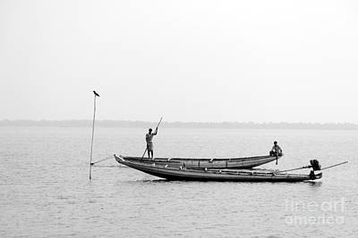 Photograph - Gone Fishing by Vishakha Bhagat