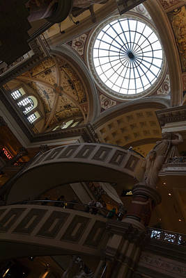 Photograph - Gone Shopping - The Forum Shops At Caesars Palace In Las Vegas Nevada by Georgia Mizuleva