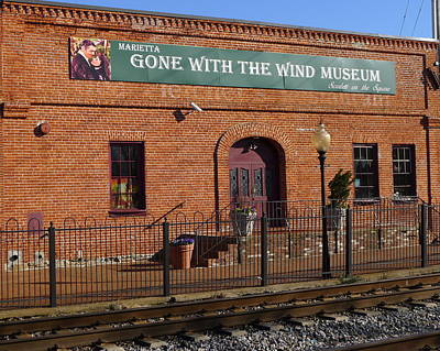 Photograph - Gone With The Wind Museum by Denise Mazzocco