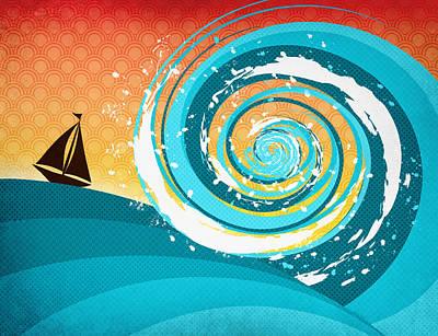 Digital Art - Gonna Need A Bigger Boat by Shawna Rowe