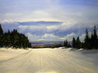 Gonna Snow Again Art Print by Ken Ahlering
