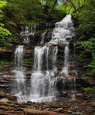 Photograph - Gonoga Falls by Mike Farslow