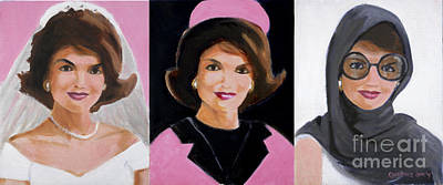 President And First Lady Painting - Good And Plenty Jackie O  by Candace Lovely
