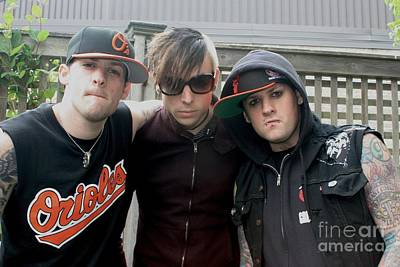Good Charlotte Photograph - Good Charlotte by Concert Photos