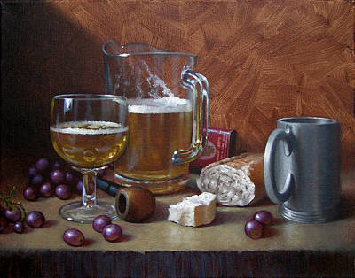 Stein Painting - Good Company by Timothy Jones