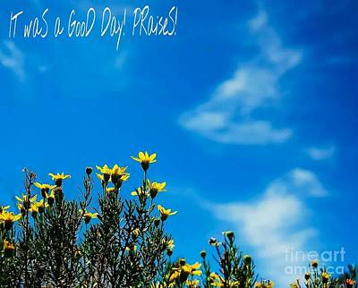 Photograph - Good Day by Angela J Wright