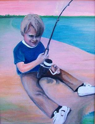 Painting - Good Day Fishing by Martha Suhocke