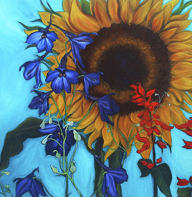 Good Day Sunshine Art Print by Andrea LaHue