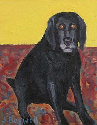 Good Dog Series 2 Art Print by Jennifer Boswell