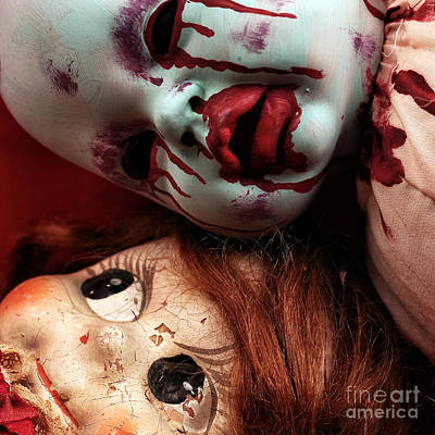 Photograph - Good Dolls Gone Bad by John Rizzuto