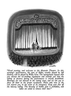 Good Evening Art Print by Henry Martin