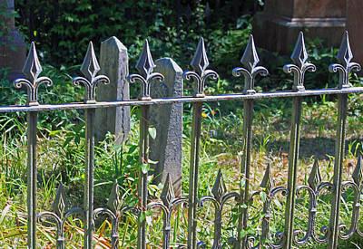 Good Fences Make Good Neighbors Art Print by Suzanne Gaff