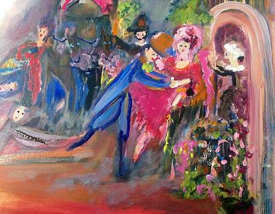 Rehearsing Painting - Good First Rehearsal by Judith Desrosiers