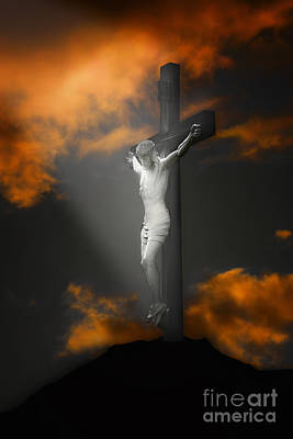 Religious Images Photograph - Good Friday by Tom York Images