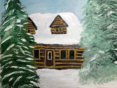 Painting - Good Friend's Home by Paula Brown