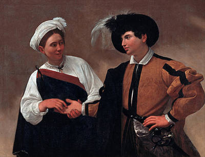 Good Luck Painting - Good Luck by Caravaggio