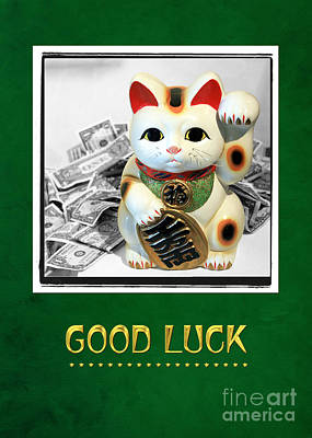 Digital Art - Good Luck by Gabriele Pomykaj
