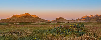 Art Print featuring the photograph Good Morning Badlands II by Patti Deters