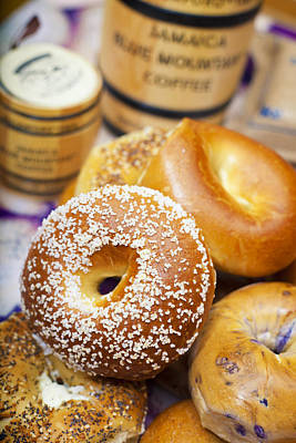 Photograph - Good Morning Bagels by Shanna Gillette