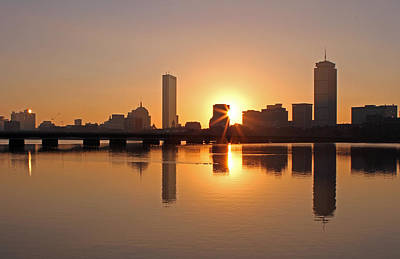 Charles River Photograph - Good Morning Boston by Juergen Roth