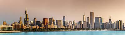 Sun Photograph - Good Morning Chicago by Sebastian Musial