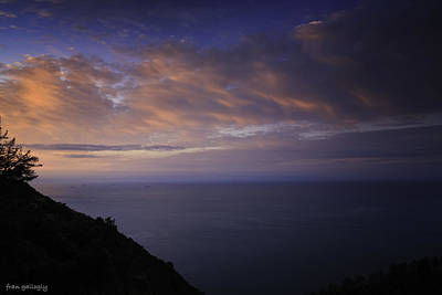 Photograph - Good Morning Cinque Terre by Fran Gallogly
