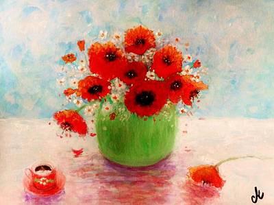 Good Morning.. Art Print by Cristina Mihailescu